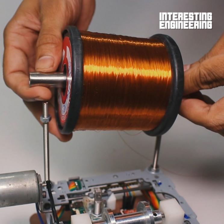 copper wire winding machine complete