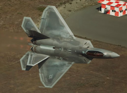 US Air Force F-22 Raptor Performs Jaw-Dropping Maneuvers
