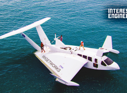 This Flying Boat Can Travel 345 Miles on a Full Tank