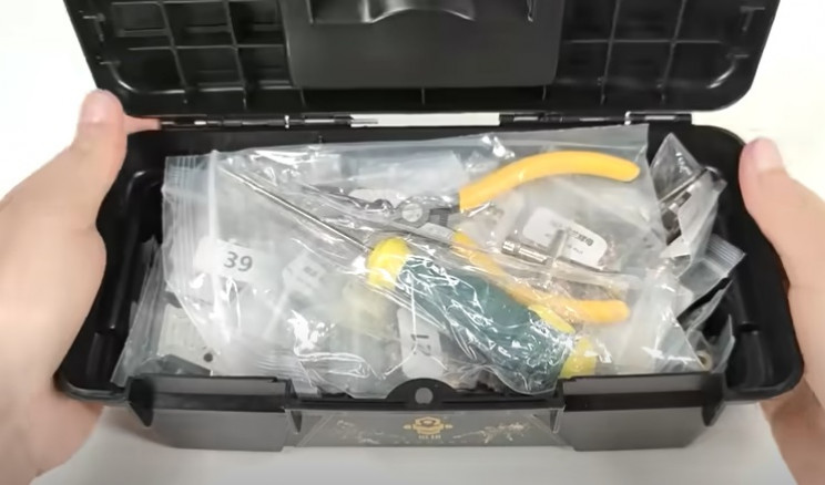 3d mech model unbox