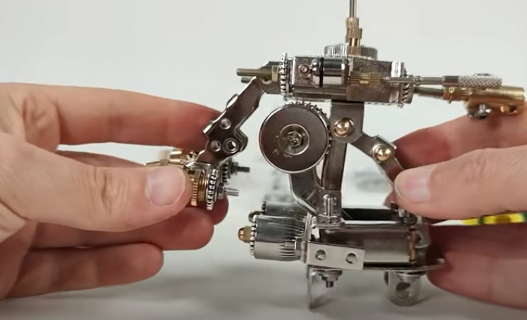 diy mech robot torso complete