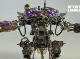Build Your Own 3D Puzzle Magnetic Mecha in 3 Simple Steps