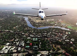 YouTuber Tries to Find His House in Flight Simulator 2020
