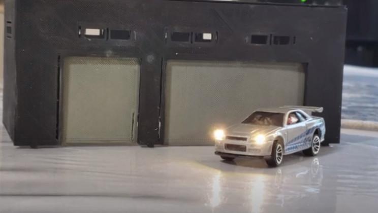 diy rc car test headlights