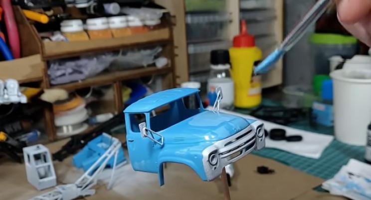 ak-75B paint cabin