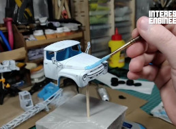 How to Assemble a Realistic-Looking Model AK-75B Truck Crane