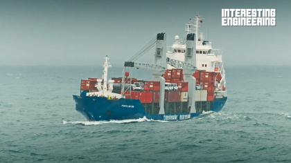 How Large Ships Survive Huge Storms at Sea