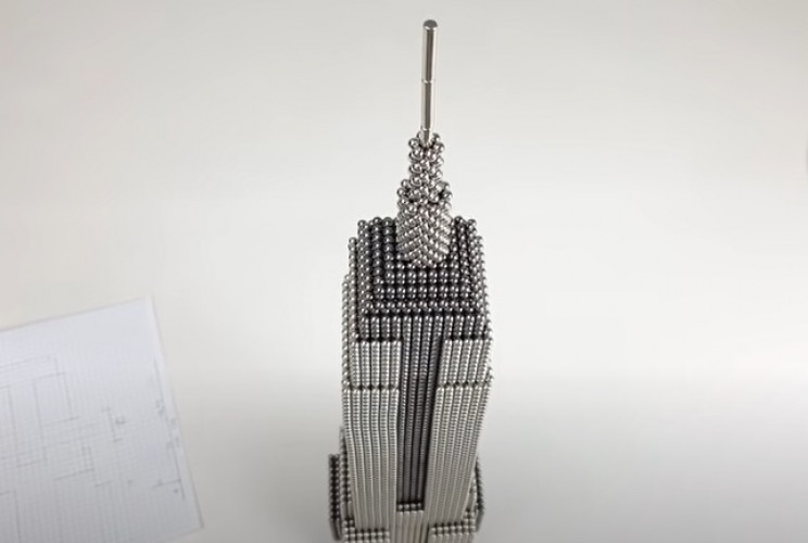 magnet empire state building complete
