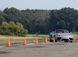 Teenage Kart Racer Breaks Guinness' Fastest Slalom Record With a Porsche 718 Spyder