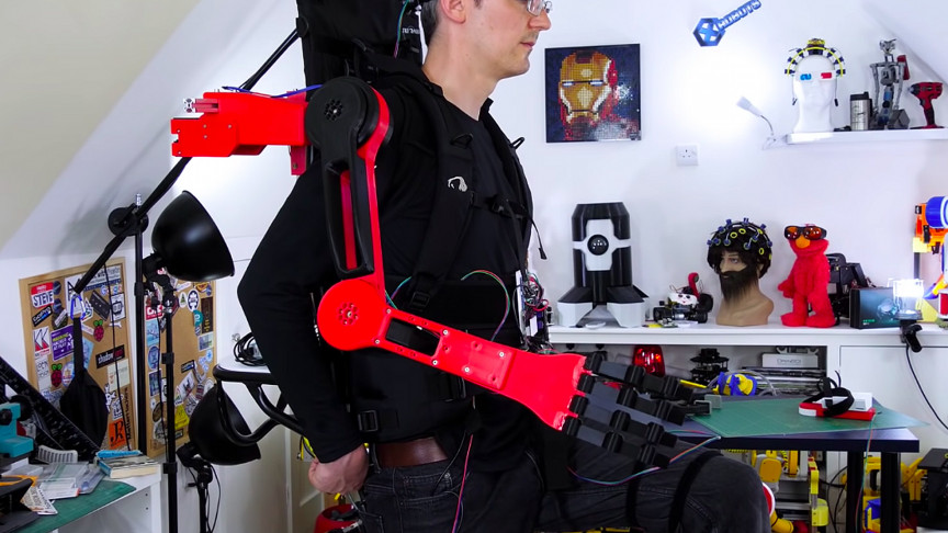 A Robotic Arm Prototype Can 'Think' Without Humans and Move Itself