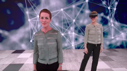 Watch Microsoft's New AI Hologram Speak Fluent Japanese