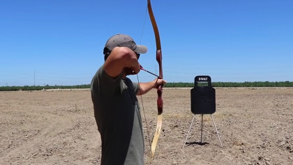 Guy Tests Out Crossbow on SWAT Shield in Surprising Experiment