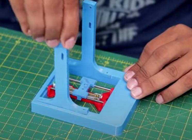 diy laser engraver arms
