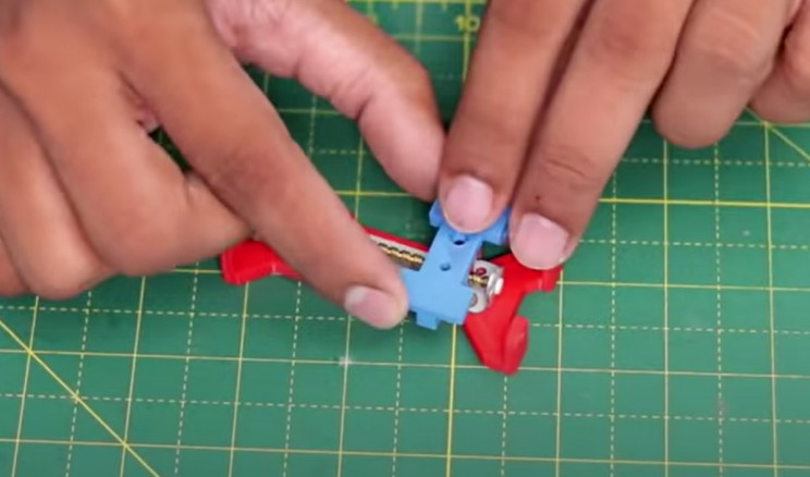 diy laser engraver motor brackets