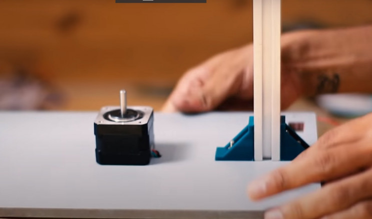 arduino sorter base and pole