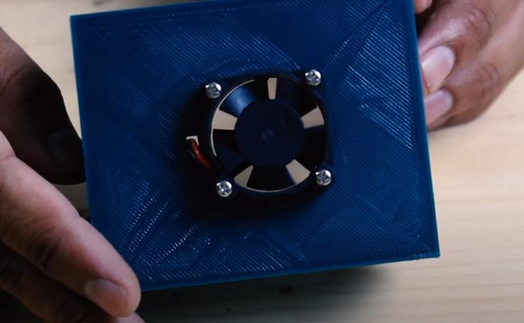 color sorted arduino box