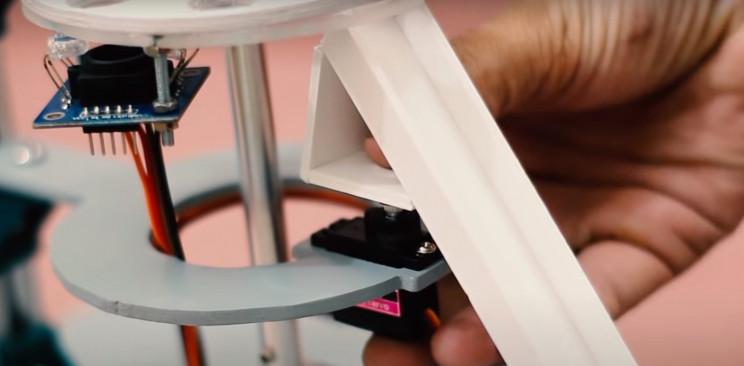 arduino color sorter ramp