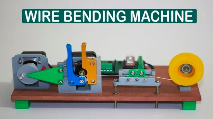 Test Your Arduino Skills with This DIY Wire Bending Machine