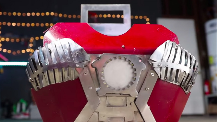 Engineer Builds Iron Man Suitcase That Can Unfold Into a Metal Suit