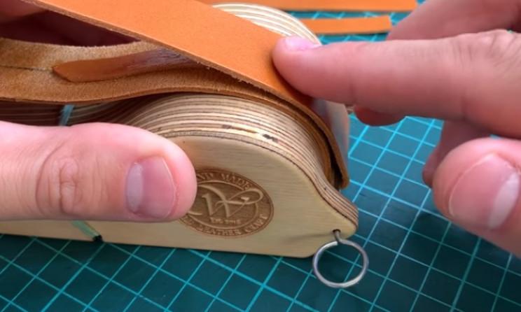 diy watch strap fold leather