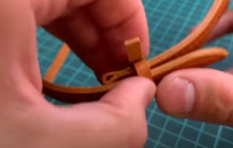 siy leather watch strap free loop